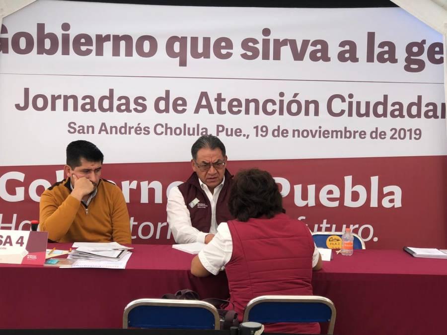 Servir a la gente, objetivo del gobierno de Puebla