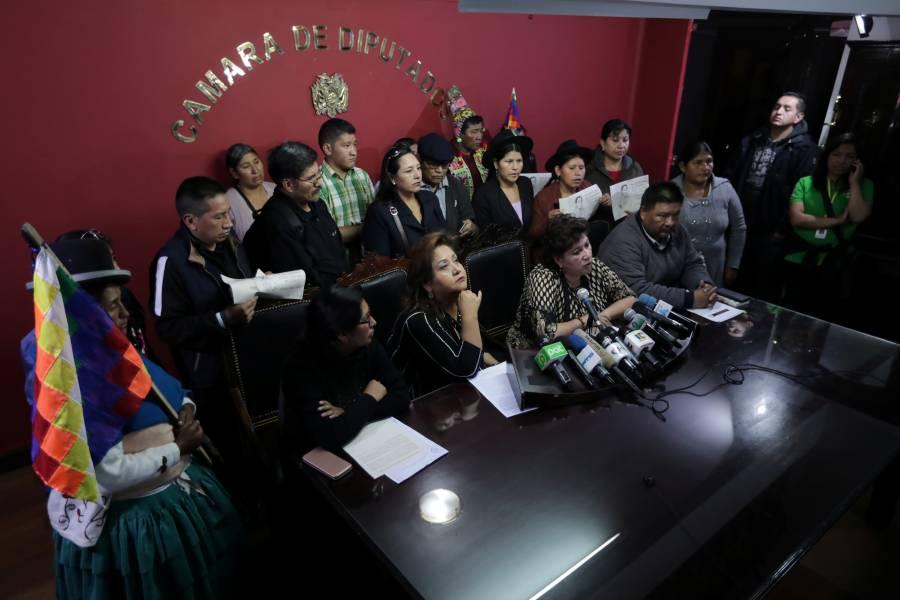 Asamblea cancela sesión sobre elecciones y renuncia de Evo Morales