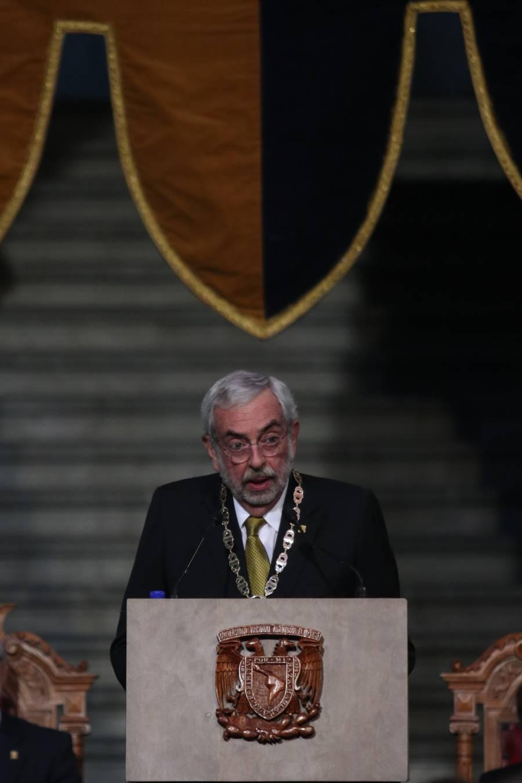 Violencia en la UNAM nos ofende y lastima: Enrique Graue