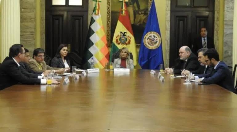 Considera OEA elecciones en breve en Bolivia
