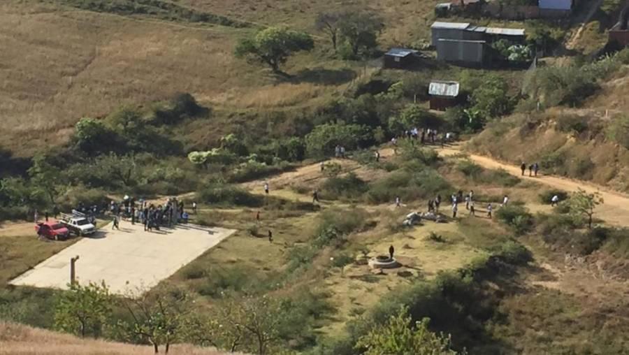 Enfrentamiento entre comuneros deja 2 muertos en Xoxocotlán, Oaxaca