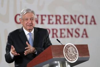 """Coincide AMLO con Slim sobre """"sacudida"""" para incentivar economía; si estuviera mal no invertirían"""