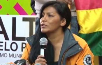 Vándalos atacan casa de alcaldesa en El Alto, Bolivia