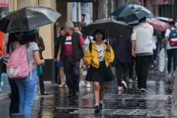 Se esperan lluvias aisladas en CDMX este martes