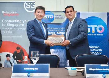 Firman Carta de Intención Guanajuato y Singapur, para fortalecer la competitividad