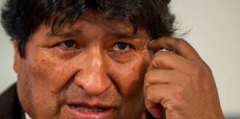 Afirma Evo Morales que hay un plan para clausurar la Asamblea Legislativa Plurinacional