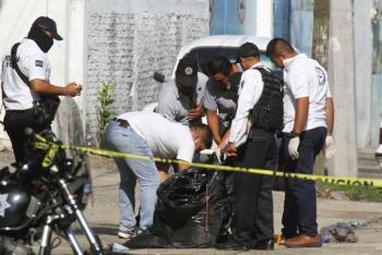 Localizan siete bolsas con restos humanos en Monterrey