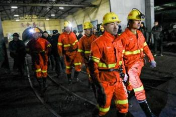 Mueren 15 mineros por explosión de gas en China