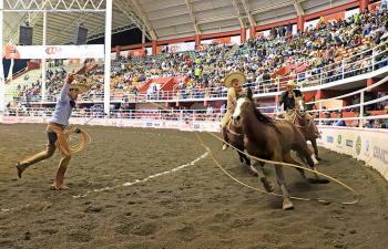 Diego Ibarra a la cabeza de los Charros Completos