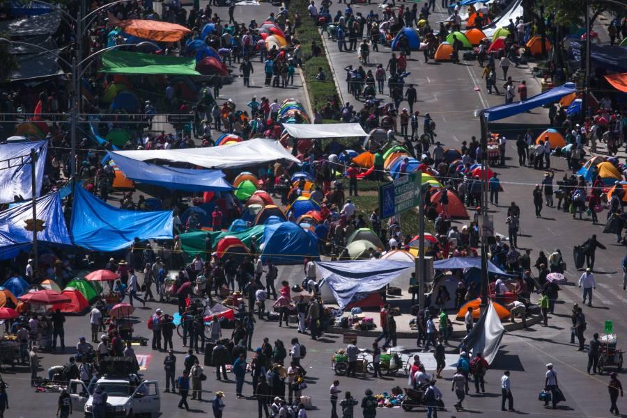 Por lo menos 7 marchas, concentraciones y caminatas se esperan hoy en la CDMX
