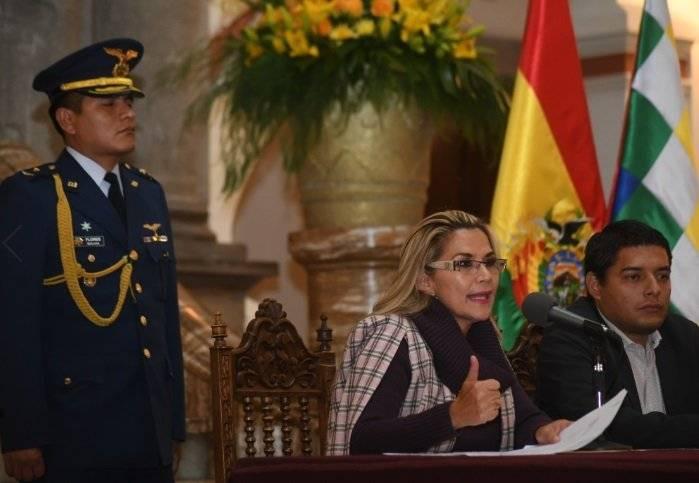 Gobierno interino de Bolivia propone iniciar proceso hacia nuevas elecciones