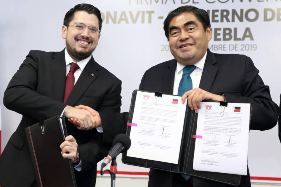 Se compromete Miguel Barbosa a garantizar el derecho a la vivienda