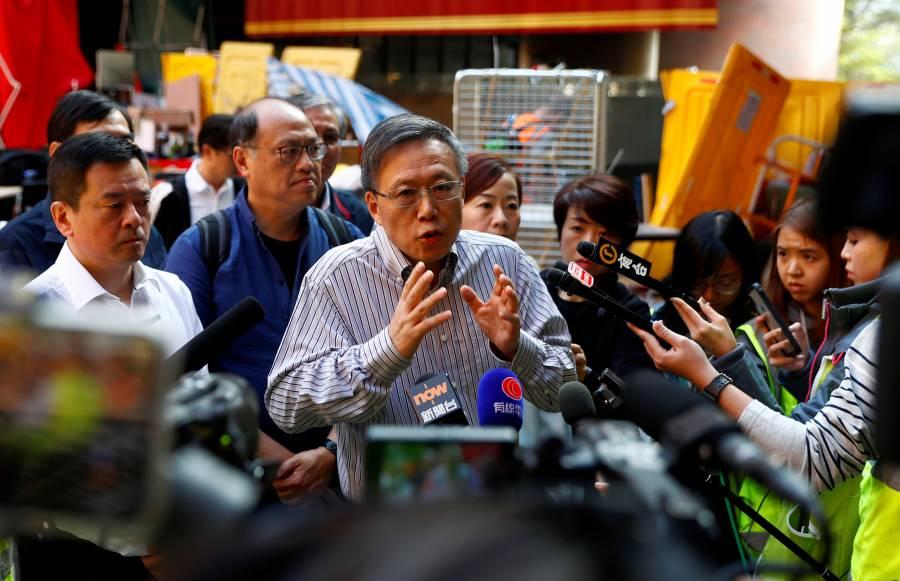 Condena China injerencia de EU en los asuntos de Hong Kong
