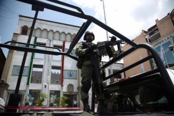 Universitarios salvados de asalto por Guardia Nacional