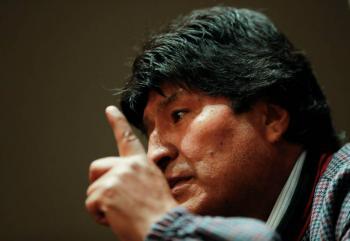 Bolivia acepta demanda penal contra Evo Morales