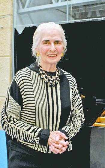 Celebran el 95 cumpleaños de la pianista Luz María Puente