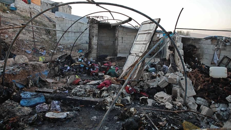 Ataque con misiles mata a 10 niños en Siria
