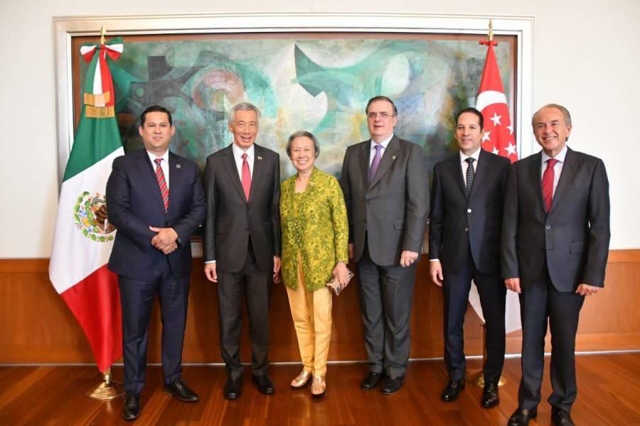 Guanajuato trabaja con Singapur para impulsar el desarrollo del Estado