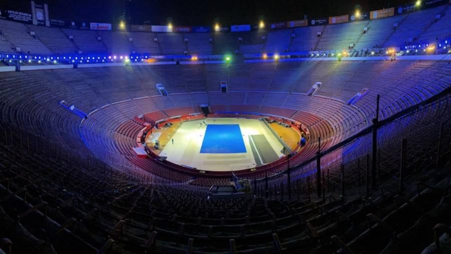 Cerca de concluir trabajos en la Plaza México para el Federer vs Zverev
