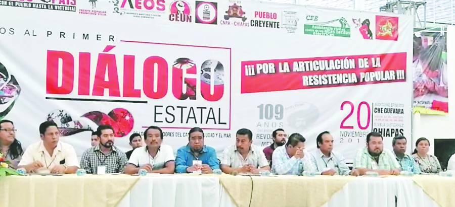 CNTE crea frente contra obras del Presidente