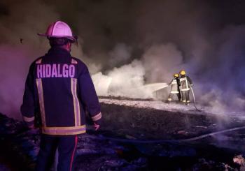 Sofocan incendio en toma clandestina en Tetepango, Hidalgo