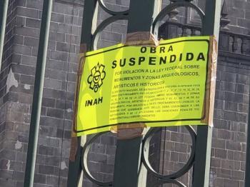 INAH suspende instalación de la Capilla Sixtina en Catedral de Puebla