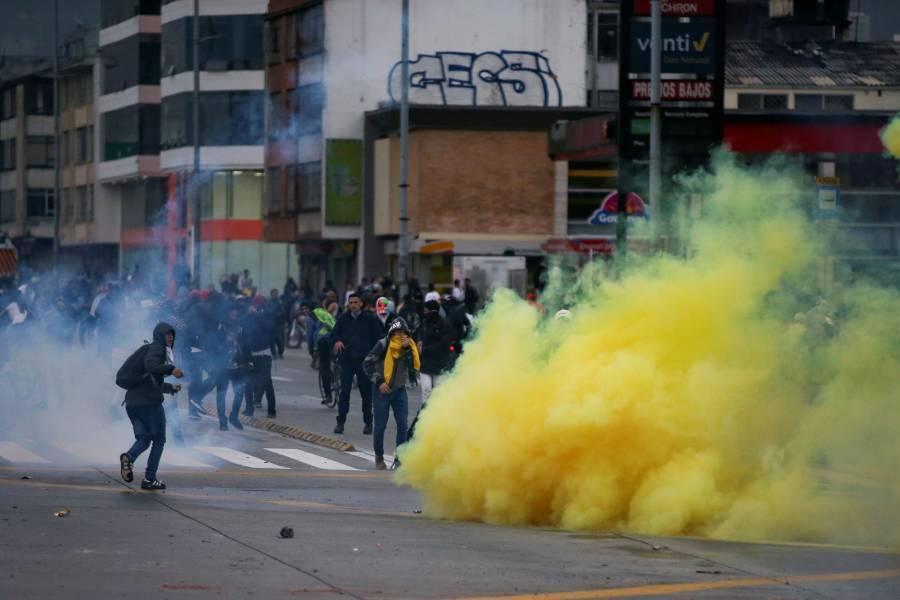 Protestas dejan tres personas muertas en Colombia