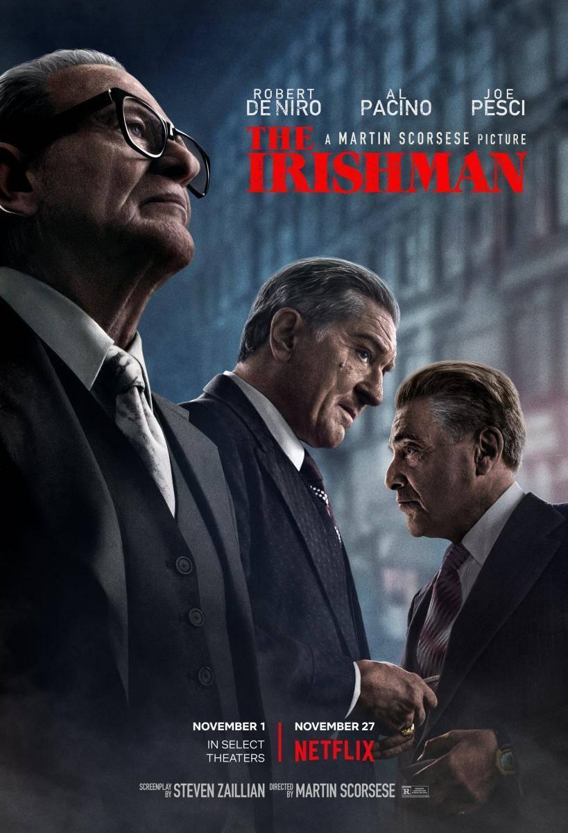 """""""El Irlandés"""", el regreso de Scorsese al cine de gánsters"""