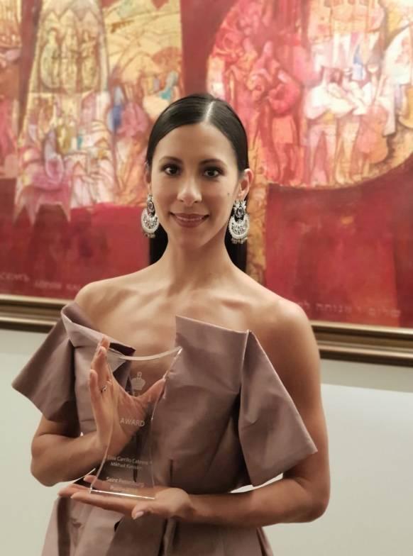 Elisa Carrillo recibe el Premio del Fondo del Patrimonio Petipa, en Eslovaquia