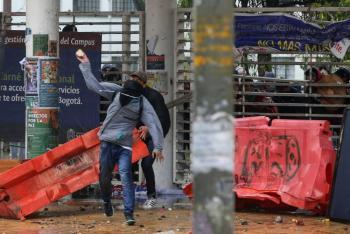 Protestas en Colombia dejan tres muertos y más de 200 heridos