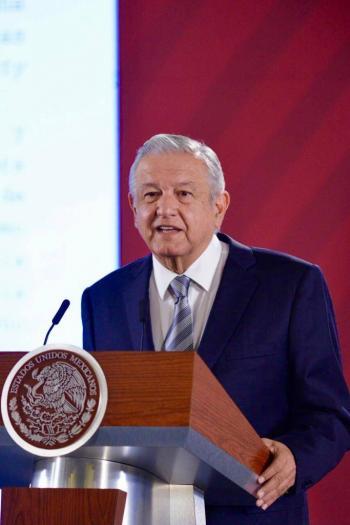 Respeta López Obrador opinión de ONU-DH sobre elección de Rosario Piedra