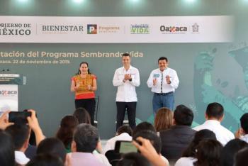 Celebran en Oaxaca la puesta en marcha del programa Sembrando Vida