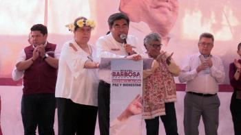 San Miguel Canoa será convertido en municipio: Miguel Barbosa