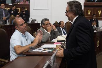 Confirma Sheinbaum renuncia del coordinador de Morena en el Congreso CDMX