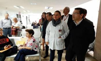 Supervisa director del ISSSTE clínicas en Morelia, Michoacán