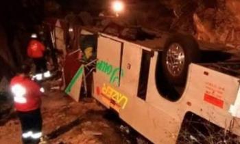 Autobús cae a barranco en Chiapas; hay varios muertos y heridos