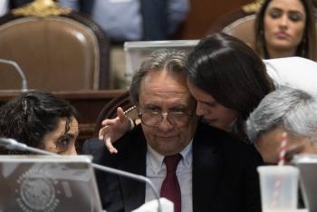 Renuncia Ricardo Ruíz a coordinación de Morena, trasciende