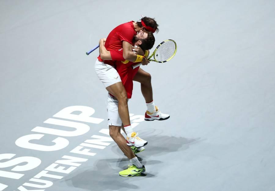 Nadal salva a España y la pone en semifinales de la Copa Davis