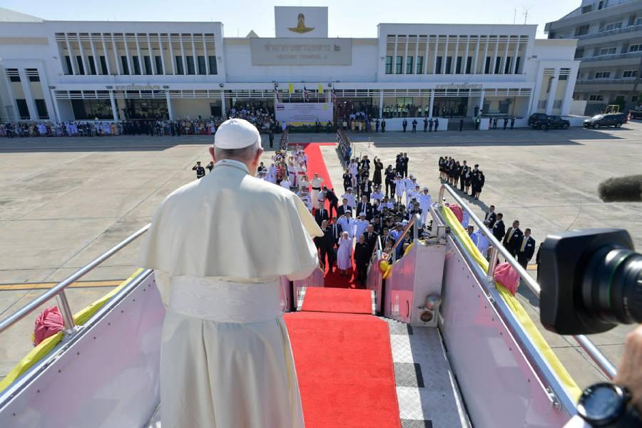 El Papa llega a Japón después de 38 años