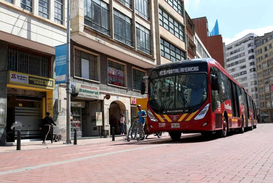 Bogotá recupera normalidad tras toque de queda