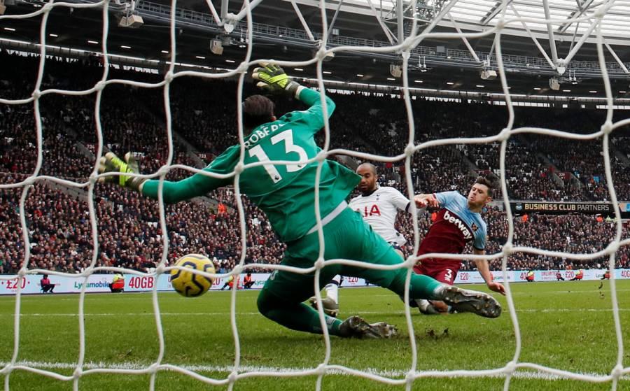 Tottenham vence a West Ham en el inicio de la era Mourinho