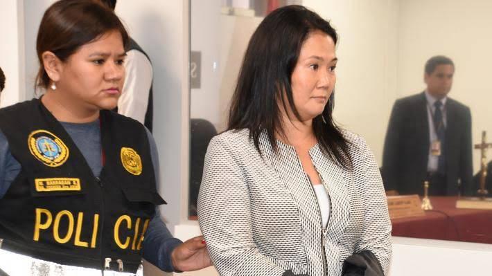 Tribunal de Perú ordena liberar a Keiko Fujimori