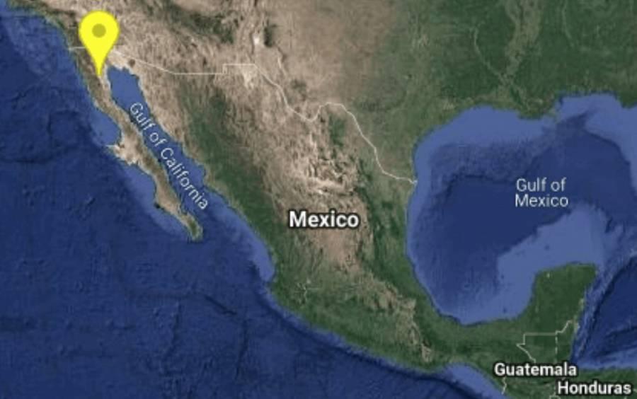 Sismo 4.2 grados remece San Felipe, Baja California