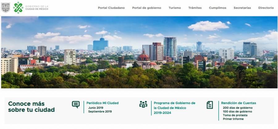 Sitios oficiales del Gobierno de la CDMX se caen