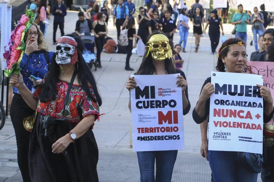Cerco policial como un mal mensaje del gobierno: Terremoto Feminista