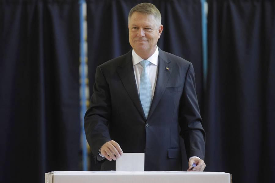 Klaus Iohannis es reelegido como presidente de Rumanía