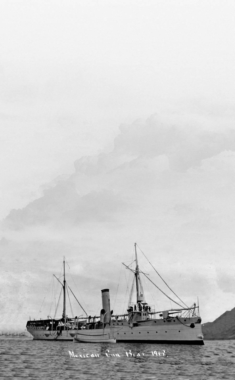A 60 metros bajo el mar de Sonora hallan barco de sublevados revolucionarios