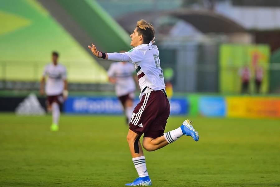 Gol del mexicano Santiago Muñoz, el mejor del Mundial Sub-17