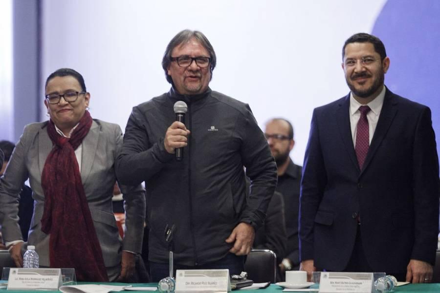 Ratifica Morena a Ricardo Ruiz como su líder en Congreso capitalino