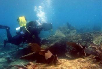 Hallan restos de buque que data de la Revolución Mexicana